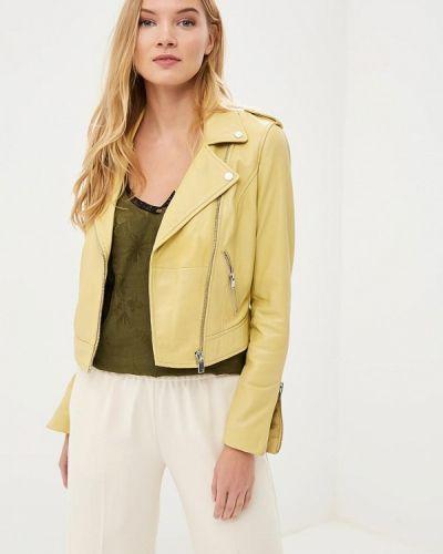 Желтая куртка La Reine Blanche