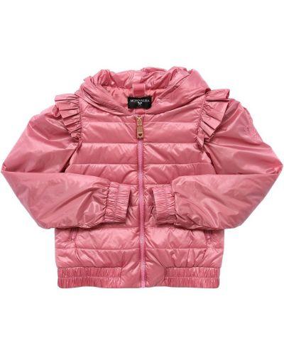 Куртка с капюшоном - розовая Monnalisa