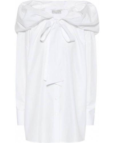 Классическая рубашка белая с капюшоном Valentino