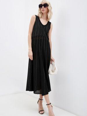 Черное платье осеннее Max&co