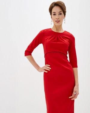 Платье футляр красный Incity