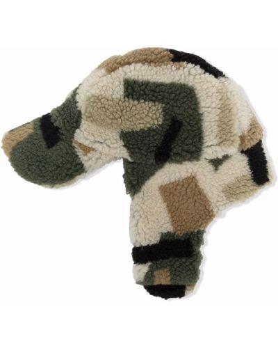 Beżowa czapka bawełniana Stella Mccartney Kids