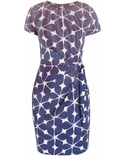 Платье миди с поясом с абстрактным принтом Diane Von Furstenberg