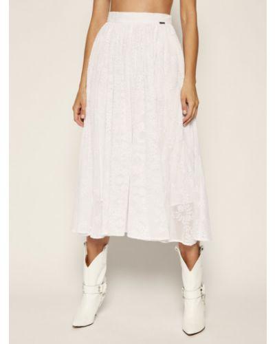 Biała spódnica maxi Guess
