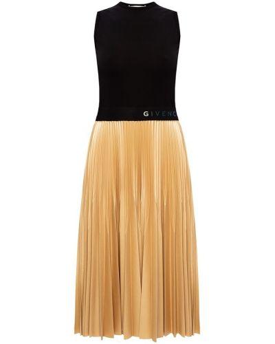 Beżowa sukienka na co dzień bez rękawów Givenchy
