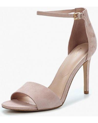 Розовые босоножки на каблуке Aldo
