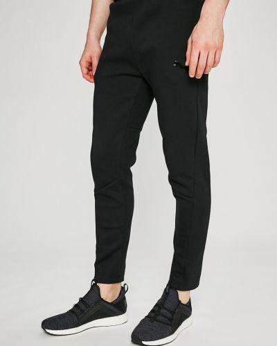 Прямые брюки на резинке с завышенной талией Puma