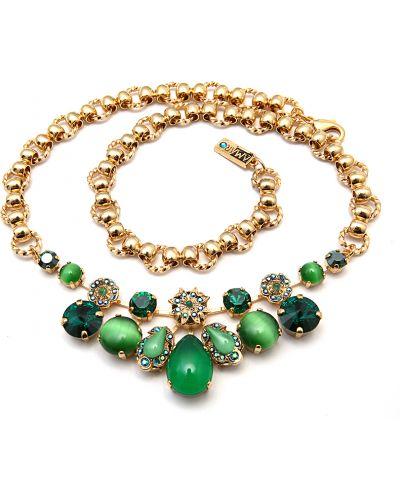Ожерелье зеленый Amaro