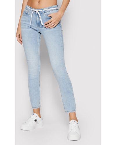 Niebieskie mom jeans Calvin Klein Jeans