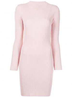 Платье макси длинное - розовое Manning Cartell