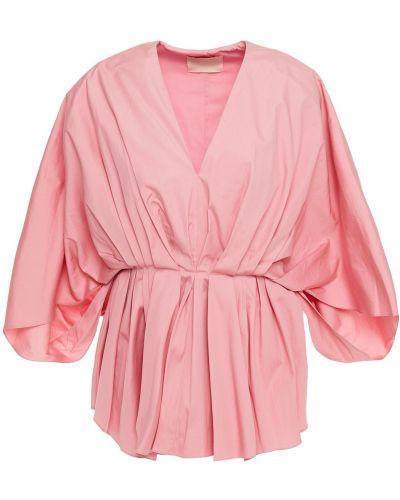 Różowa bluzka bawełniana Roksanda