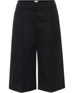 Черные классические шорты из габардина Tod's