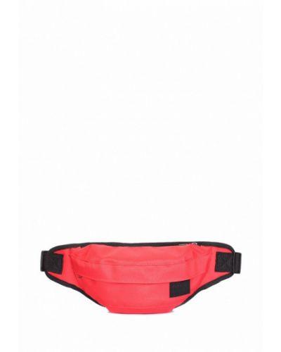 Красная поясная сумка Poolparty
