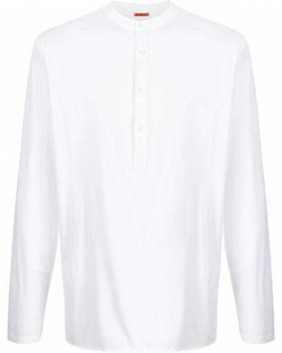 Biała koszulka z długimi rękawami Barena
