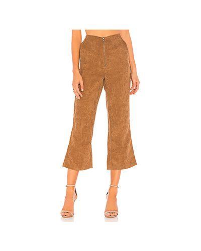 Свободные брюки расклешенные вельветовые Tularosa