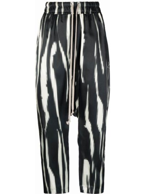 Spodnie z wiskozy - białe Rick Owens