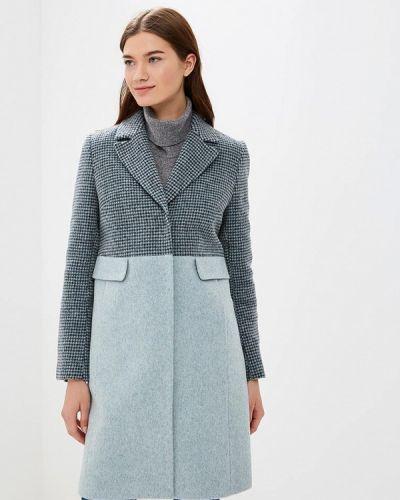 Пальто - голубое Emi