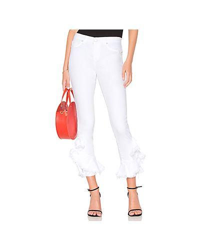 Укороченные джинсы с накладными карманами [blanknyc]
