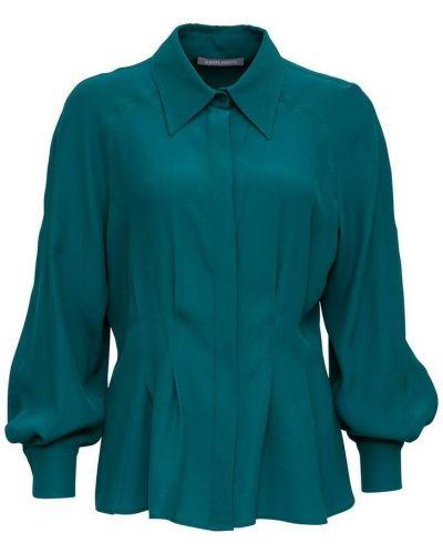 Niebieska koszula Alberta Ferretti