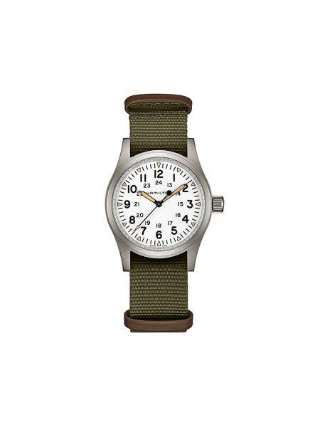 Zegarek mechaniczny - biały Hamilton Watch