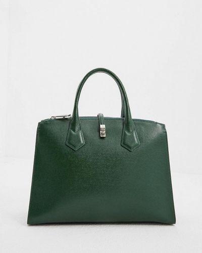Кожаный сумка зеленый Vivienne Westwood