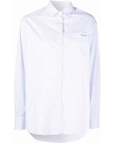 Рубашка в полоску - синяя Maison Labiche