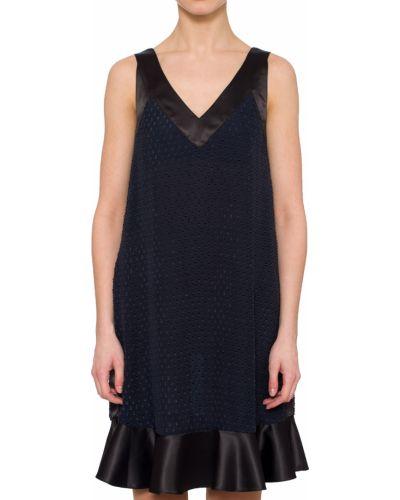 Платье шелковое из вискозы Trussardi Jeans