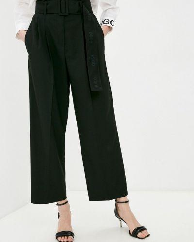 Повседневные черные брюки Hugo