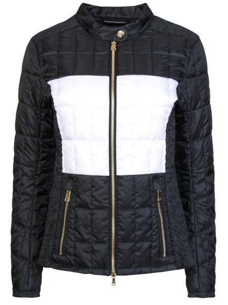 С рукавами черная стеганая куртка на молнии с карманами Bogner