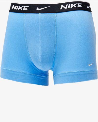 Markowe niebieski kąpielówki Nike