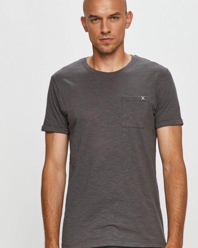 Szary t-shirt bawełniany Clean Cut Copenhagen