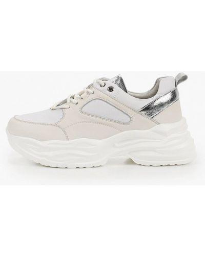 Кожаные белые кроссовки Nexpero