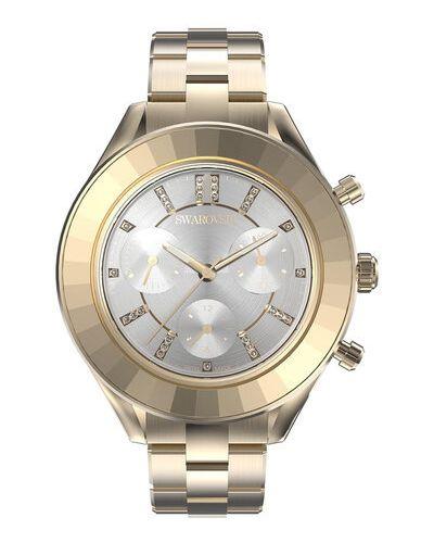 Złoty zegarek Swarovski