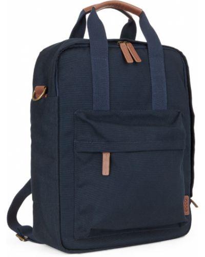 Рюкзак для ноутбука открытый кожаный Ecco