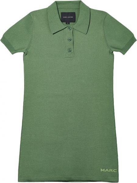 Платье рубашка - зеленое Marc Jacobs
