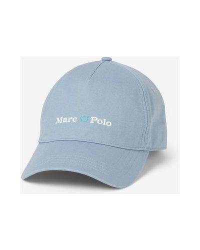 Klasyczna niebieska czapka bawełniana Marc O Polo