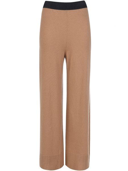 Бежевые брюки шерстяные Ballantyne