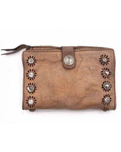 Beżowy portfel Campomaggi