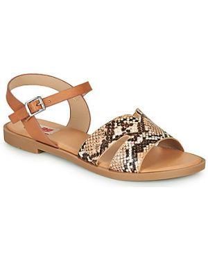 Brązowe sandały Mtng
