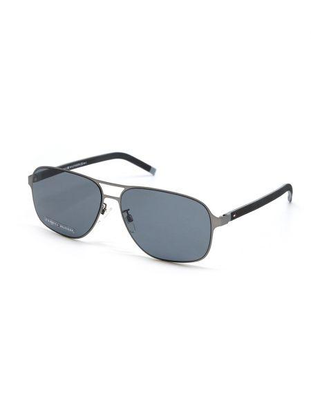 Серые очки авиаторы Tommy Hilfiger