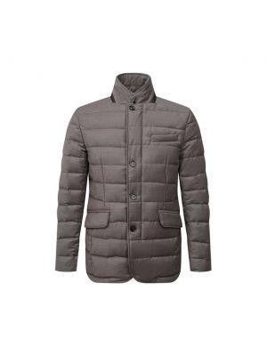 Бежевая стеганая куртка Moorer