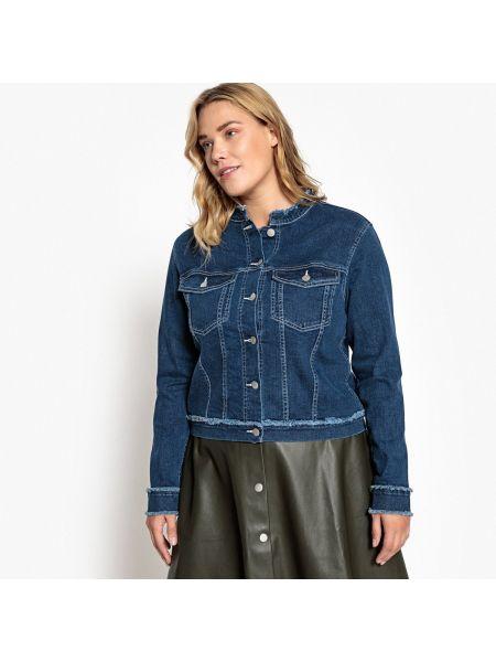 Джинсовая куртка укороченная прямая Castaluna