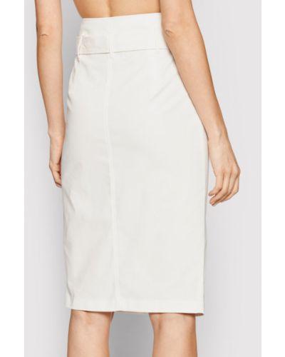 Biała spódnica ołówkowa Liu Jo