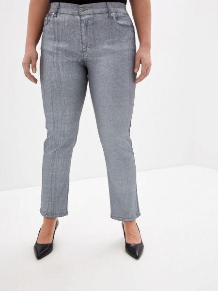 Серые брюки с воротником Keyra