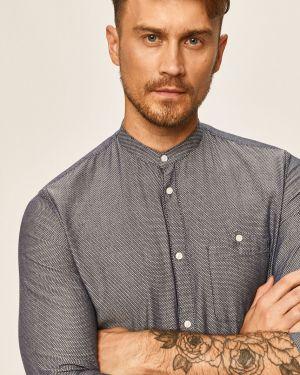 Koszula z długim rękawem dżinsowa na przyciskach Tom Tailor Denim
