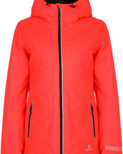 Утепленная красная короткая куртка для бега Nordway
