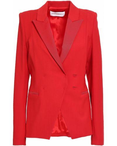 Шерстяной пиджак с подкладкой с манжетами Amanda Wakeley