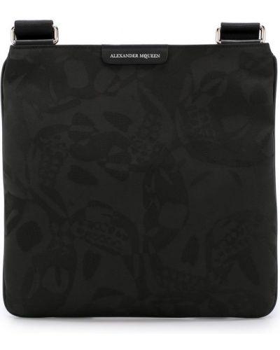 Спортивная сумка текстильная большого размера Alexander Mcqueen