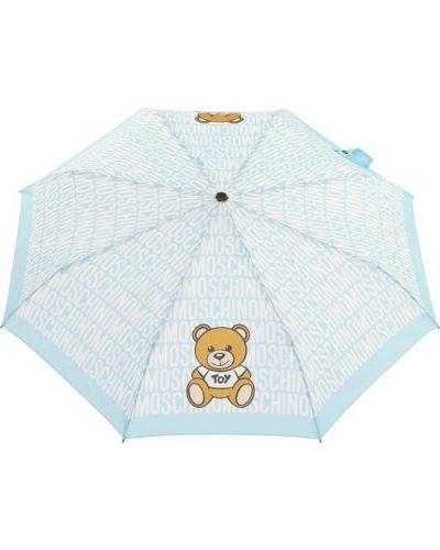 Зонт складной из полиэстера Moschino