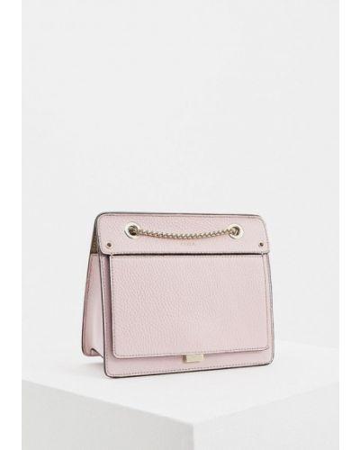 Розовая сумка через плечо Furla